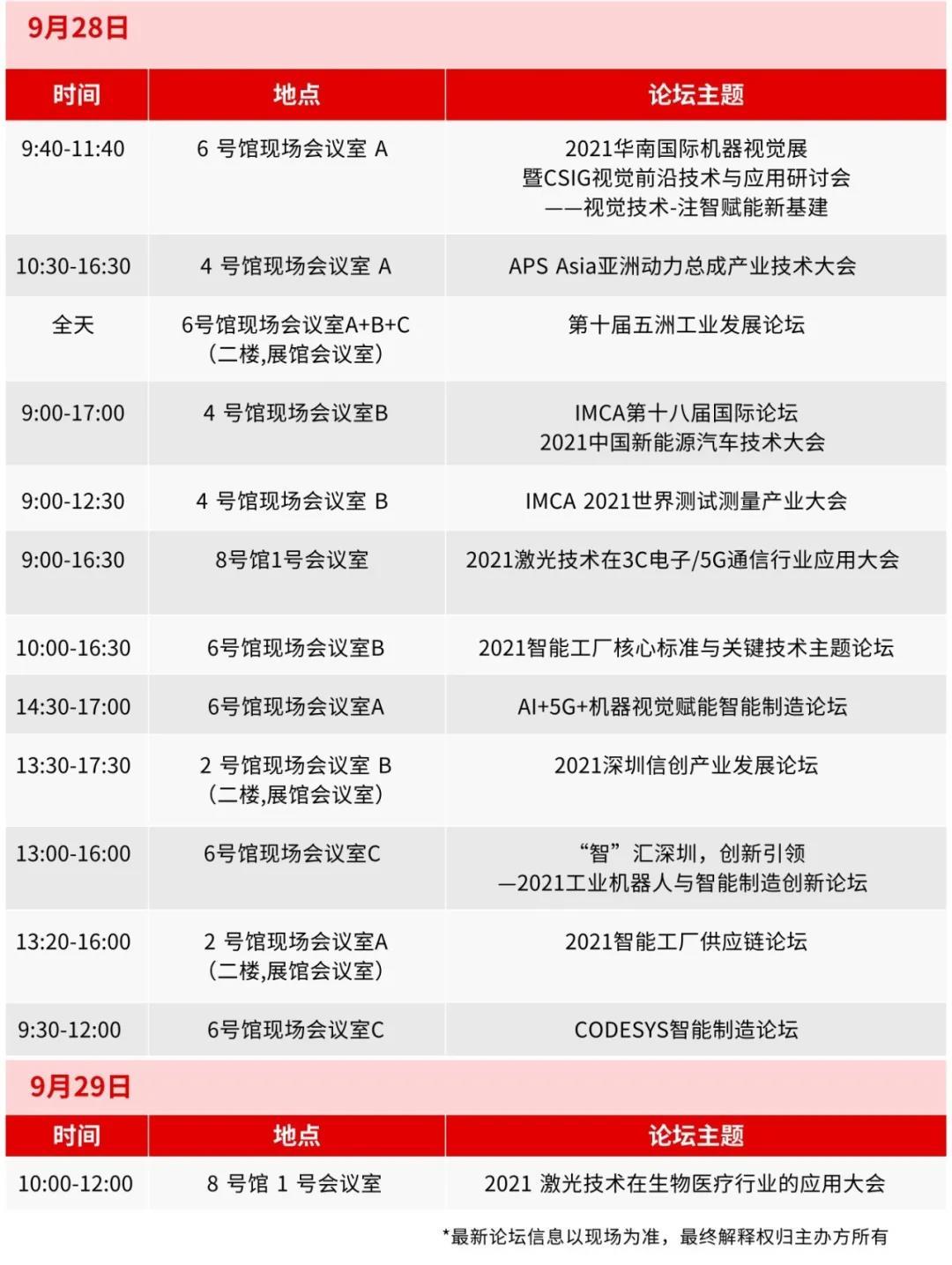28-29日论坛议程一览